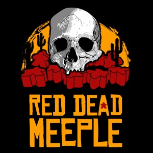 Red Dead Meeple T-shirt