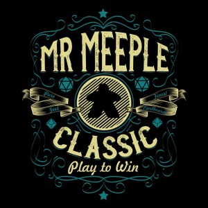 Mr Meeple Vintage T-shirt