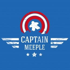 Captain Meeple T-shirt