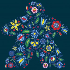 Flower Meeple T-shirt