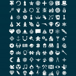 Iconography of Games T-shirt